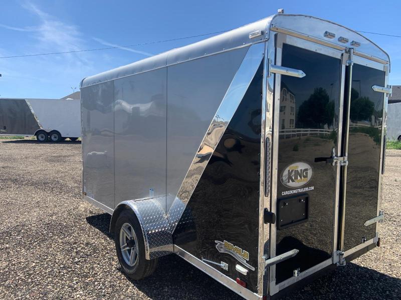 6x12 Single Axle Enclosed Cargo Trailer