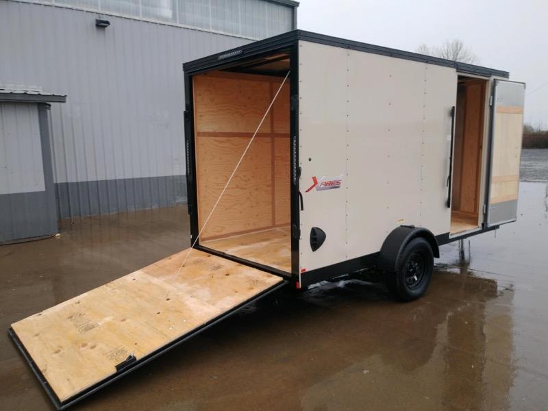6X12 Enclosed Cargo Trailer