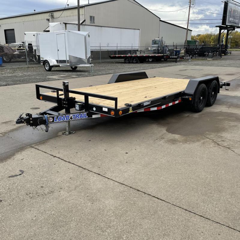 7x18 10k Fixed Bed Car Hauler Trailer