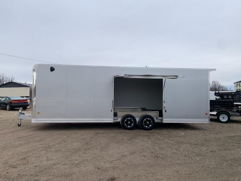 8.5x26 ALL ALUMINUM Tandem Axle 10k Enclosed Cargo Trailer