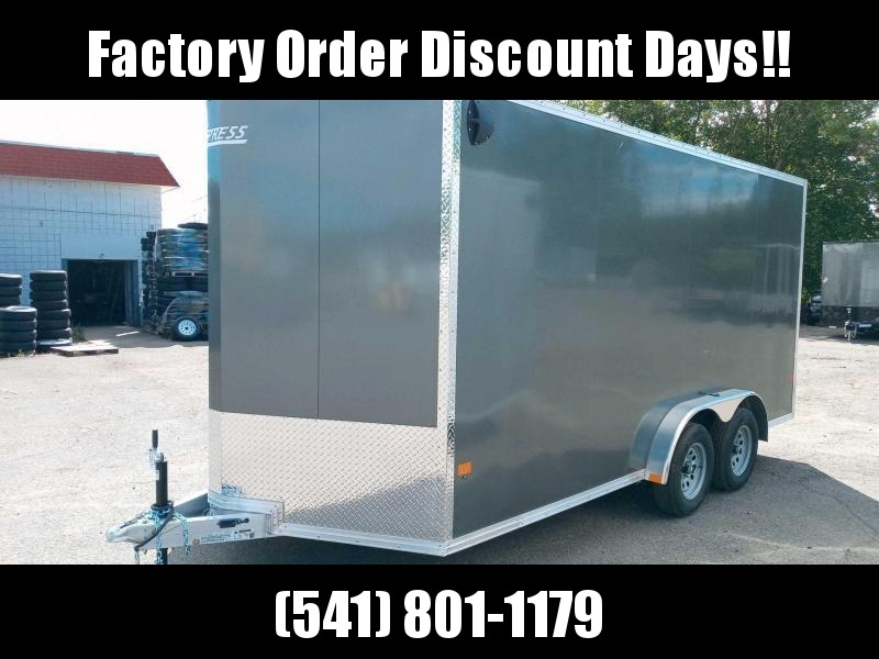 7.5x16 All Aluminum Enclosed Cargo Trailer  **  6'' of additional height  ** **FACTORY ORDER**