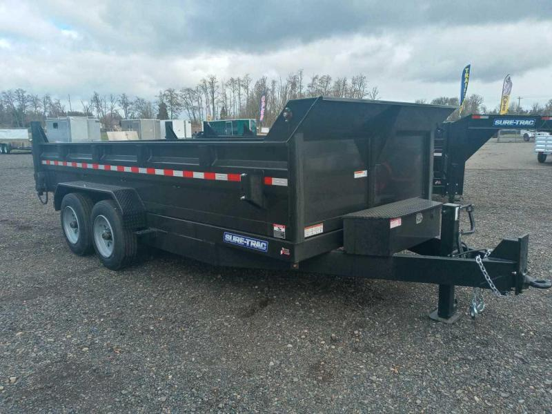 7x16 Dump Trailer 16K Scissor Dump And Ramps