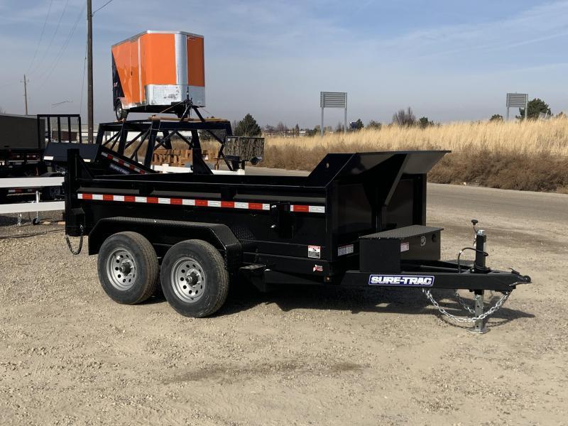 6x10 Tandem Axle heavy Duty 10k Dump Trailer