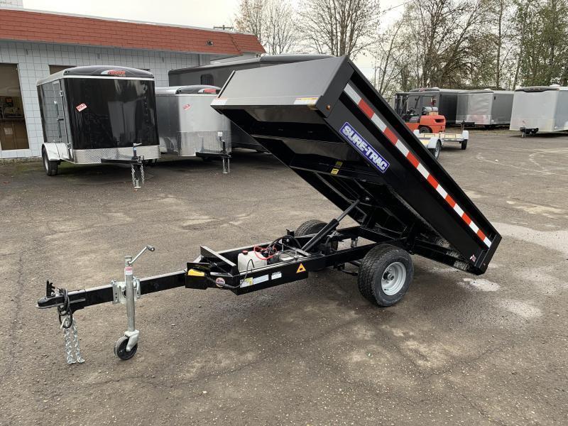 4.5x8 Single Axle Homeowner Dump Trailer