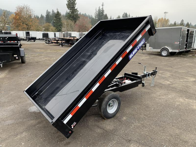4.5x8 Single Axle Homeowner Dump Trailer