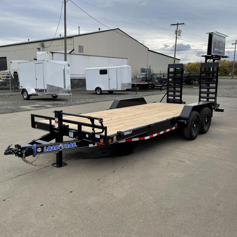 7x20 14k Fixed Bed Car Hauler Equipment Trailer