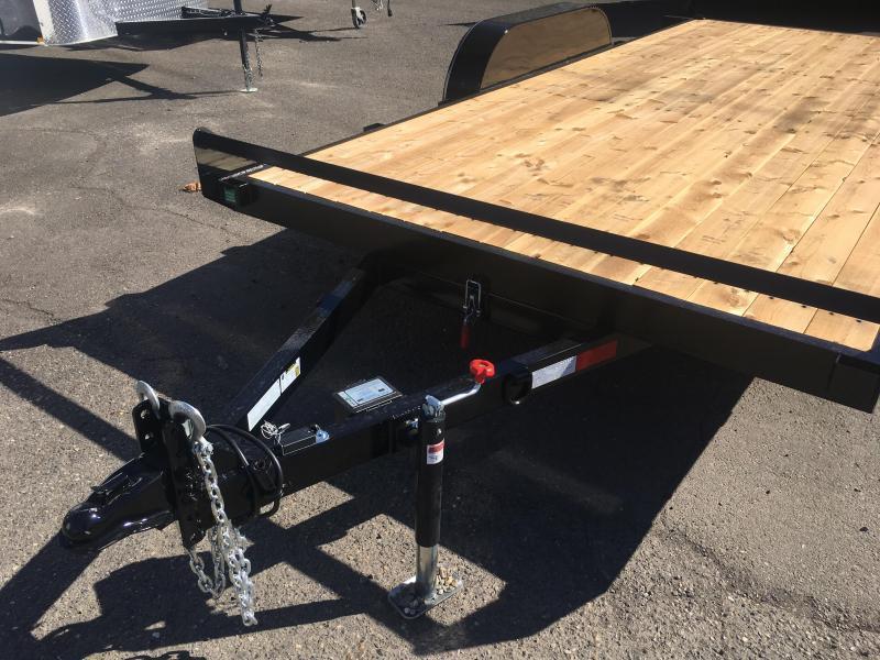 7x16 Car Trailer - 10k Tilt Open Utility Trailer