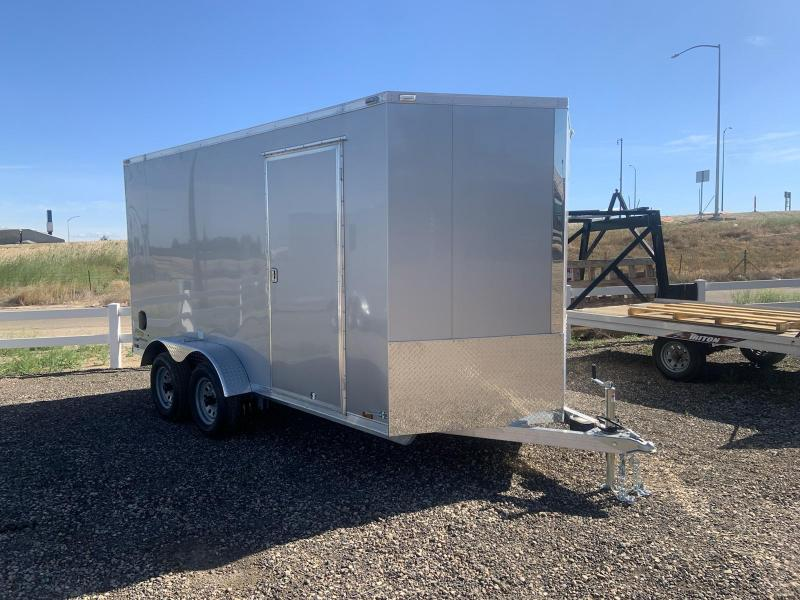 7x14 Tandem Axle Enclosed Cargo Trailer **ALL ALUMINUM FRAME**