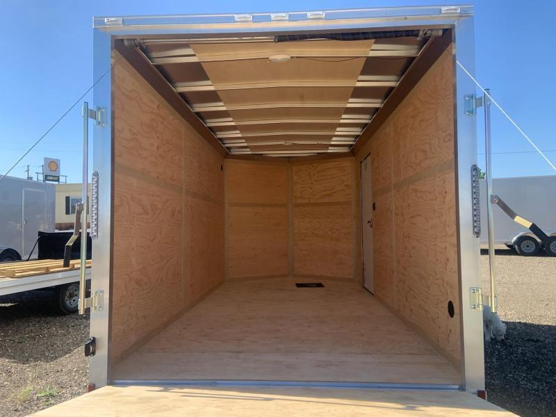 7x14 Tandem Axle Enclosed Cargo Trailer **ALL ALUMINUM FRAME**