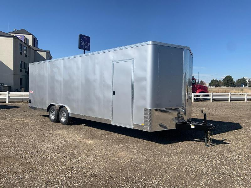 8.5x24 Tandem Axle Enclosed 10k Cargo Trailer