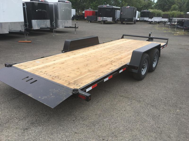 7x18 Car Hauler 10K TILT Open Utility Trailer