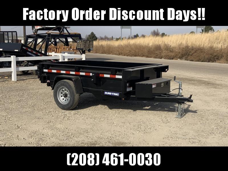 5x8 Single Axle Heavy Duty 5k Dump Trailer