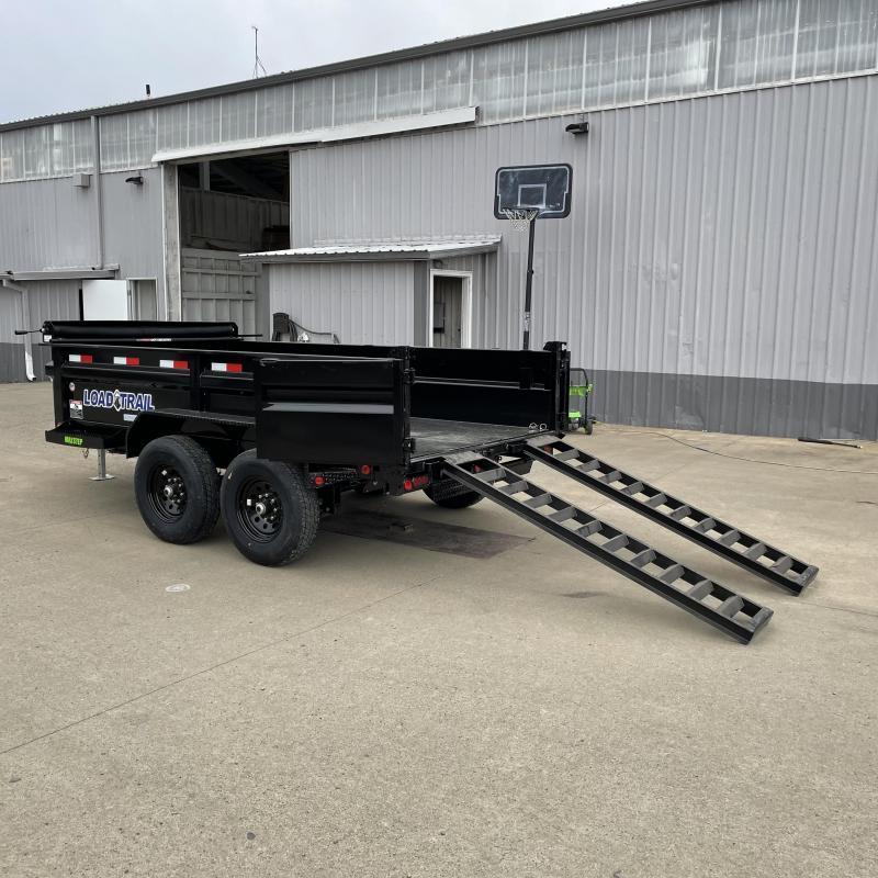 6x12 14k Tandem Axle Dump Trailer
