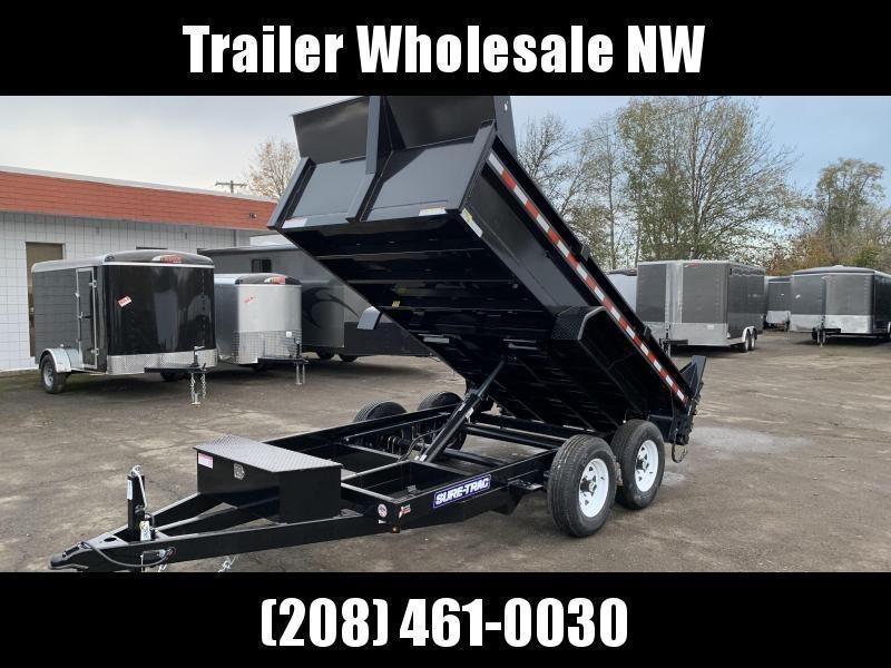 6x12 10k Tandem Axle Utility Dump Trailer