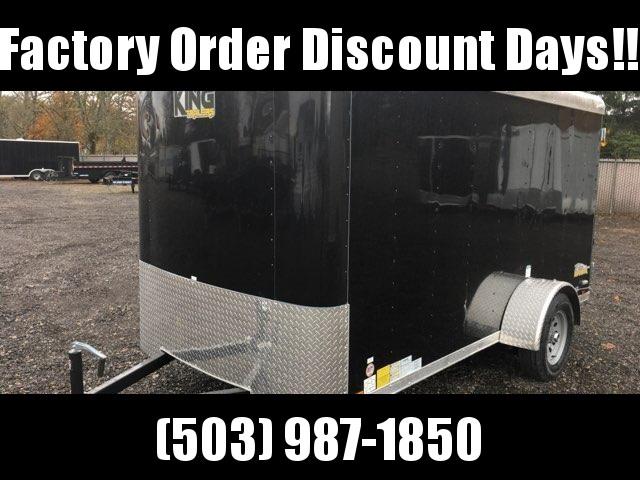 6x12 Enclosed Cargo Trailer With Double Door **FACTORY ORDER**