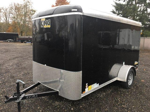6x12 Enclosed Cargo Trailer With Double Door **ON ORDER**
