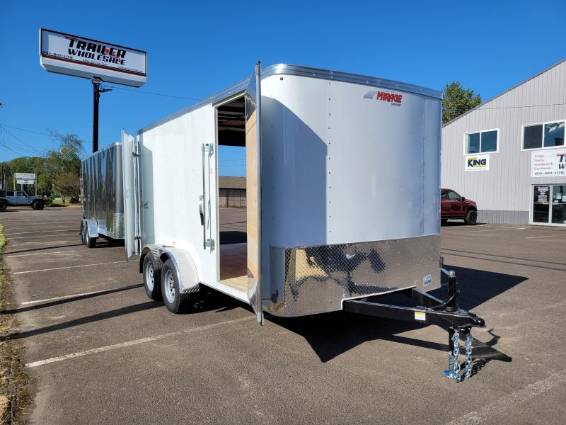 "2021 Mirage Trailers 7x14 Enclosed Cargo Trailer  **  6"" Additional Height  **"