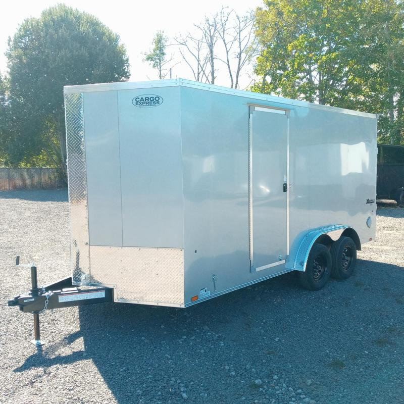 7.5x16 Enclosed Cargo Trailer **Side X Side**
