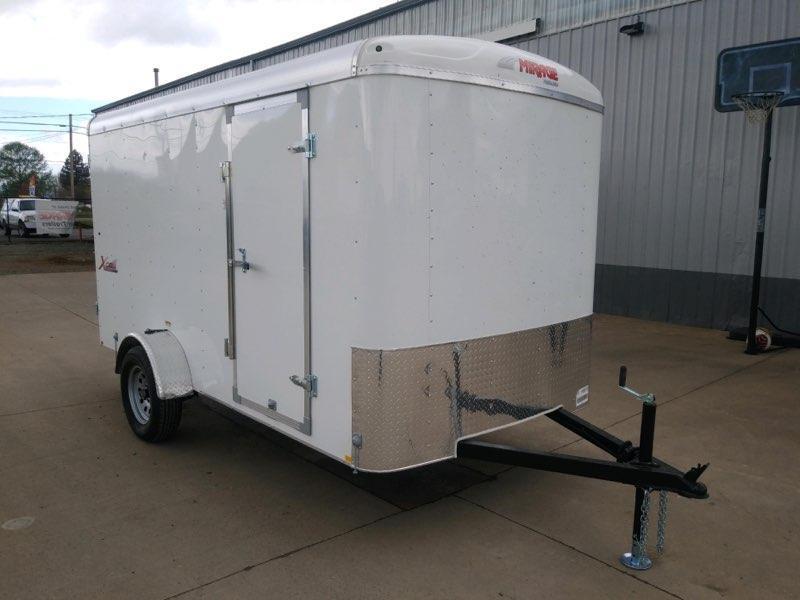6x12 Enclosed Cargo Trailer  **  Double Rear Door  **  In Stock  **