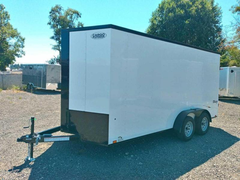 7X16 Enclosed Cargo Trailer **Side X Side** **FACTORY ORDER**