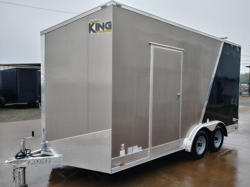 2021 Cargo King NMA816TA2 All Aluminum Enclosed Cargo Trailer