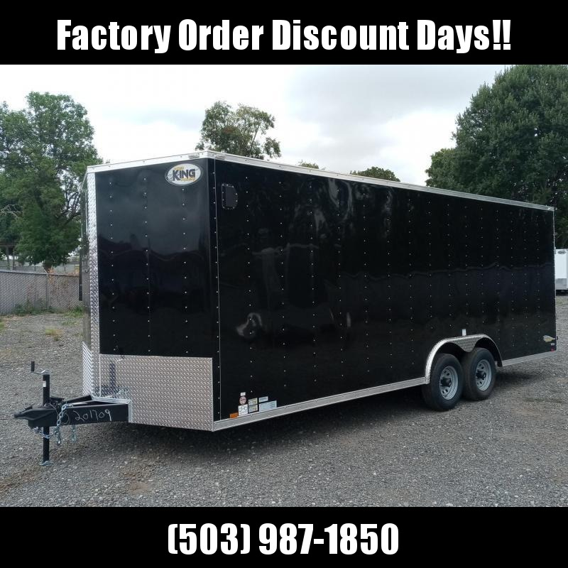 8.5x22 10k Enclosed Cargo Trailer **FACTORY ORDER**
