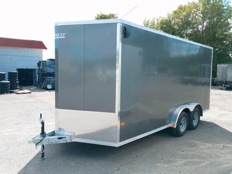 7.5x16 All Aluminum Enclosed Cargo Trailer  **  6'' of additional height  **