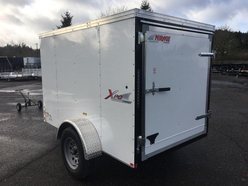5x8 Enclosed Cargo Trailer