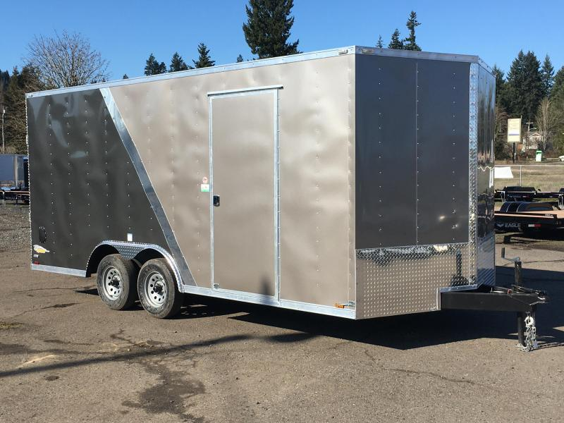 8.5x18 Tandem Axle Enclosed Cargo Trailer