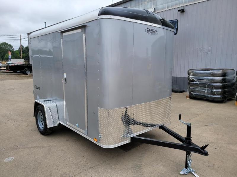 2022 Cargo Express 6X10 Enclosed Cargo Trailer  **  Rear Ramp Door  **  Extra Height  **