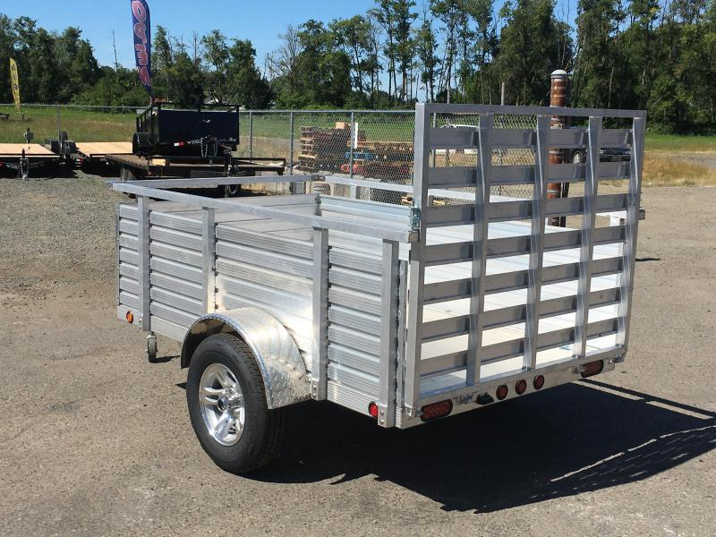 5X10 Aluminum Utility Trailer Drop Gate 3K