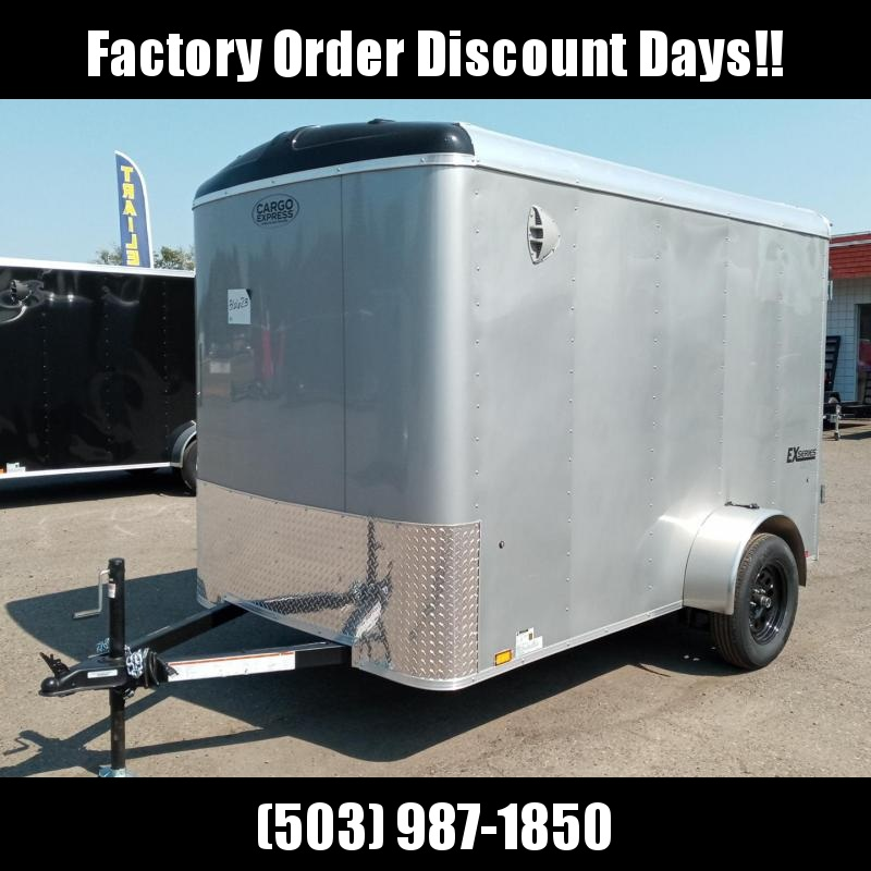 6x10 Enclosed Trailer With Double Doors  **FACTORY ORDER**