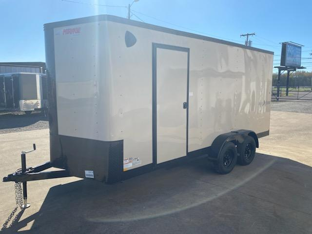 Enclosed Cargo Trailer ** Desert Tan Side x Side Package ** Black Out Package **