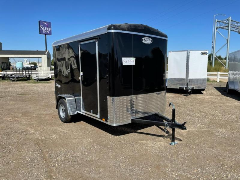 6x10 Enclosed Trailer With Rear Double Doors