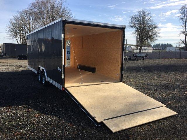 8.5x24 Enclosed Car Cargo Trailer **FACTORY ORDER**
