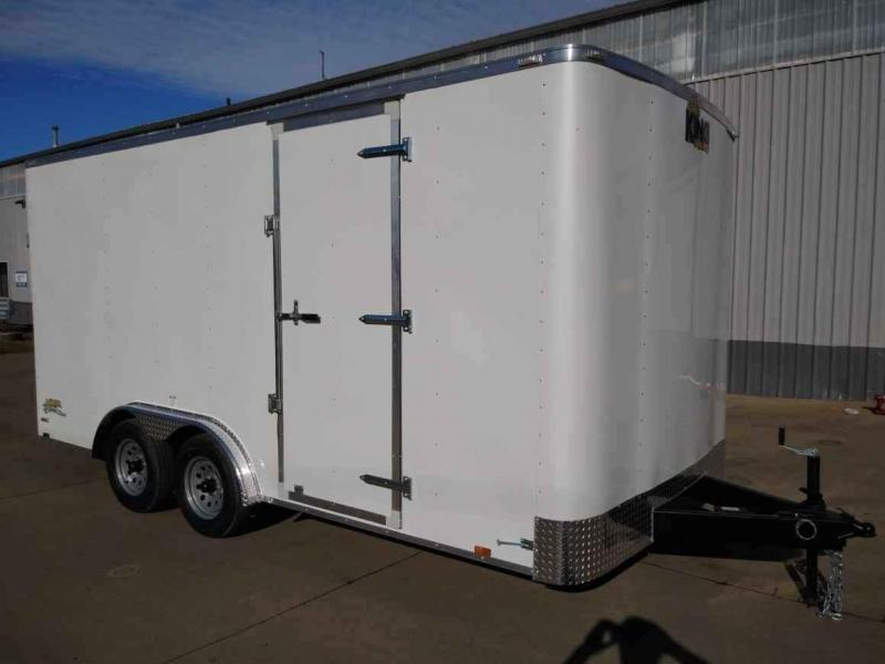 8 x 16 Enclosed Cargo Trailer ** Rear Ramp Door ** 6'' of additional Height **