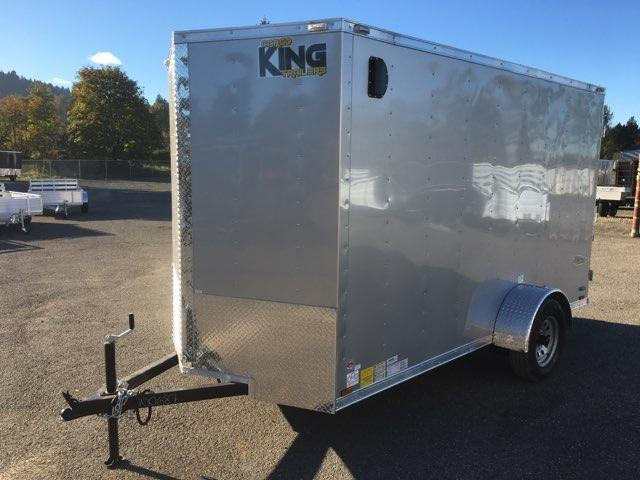 6x12 Enclosed Cargo Trailer With Rv Door And Double Door
