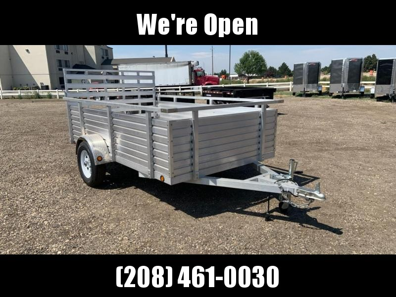 6x10 ALL ALUMINUM Open Utility Trailer