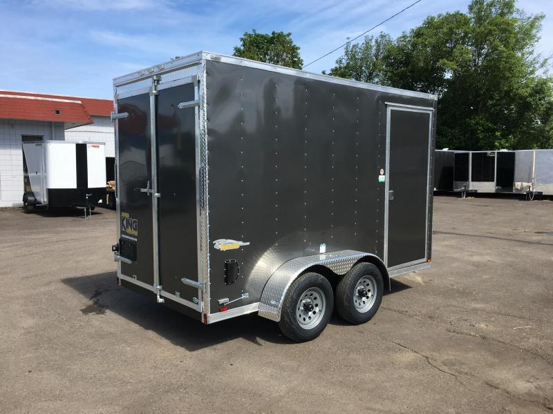 6x12 Tandem Axle Enclosed Cargo Trailer