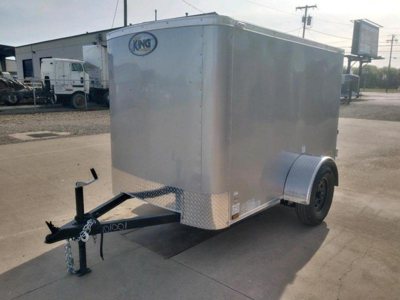 5x8 Enclosed Cargo Trailer  **  Double rear doors  **  In Stock  **