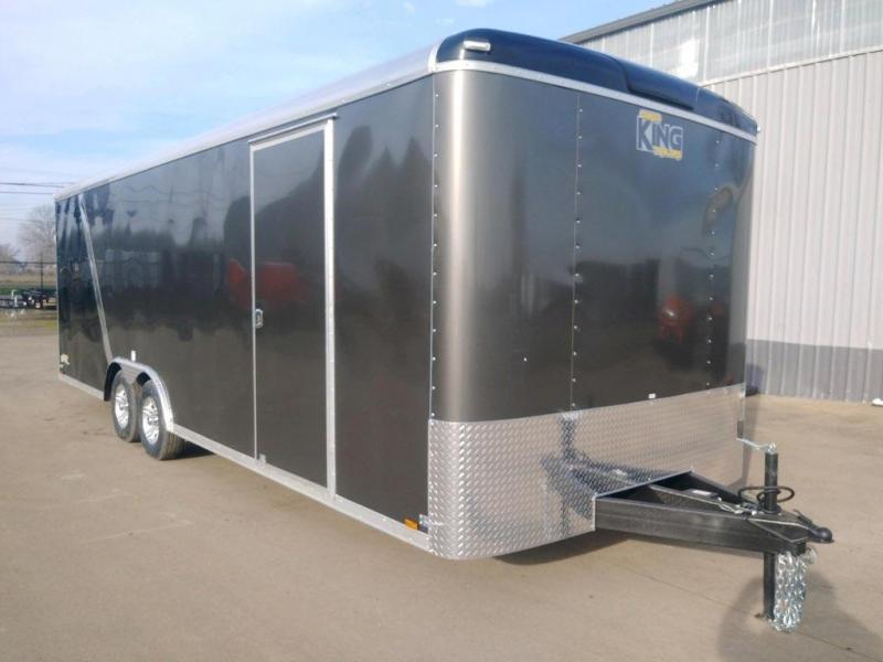 8.5 x 24TA3 Enclosed Cargo Trailer  **  Finished Ceiling  ** 6'' of extra height  **  Beavertail  **