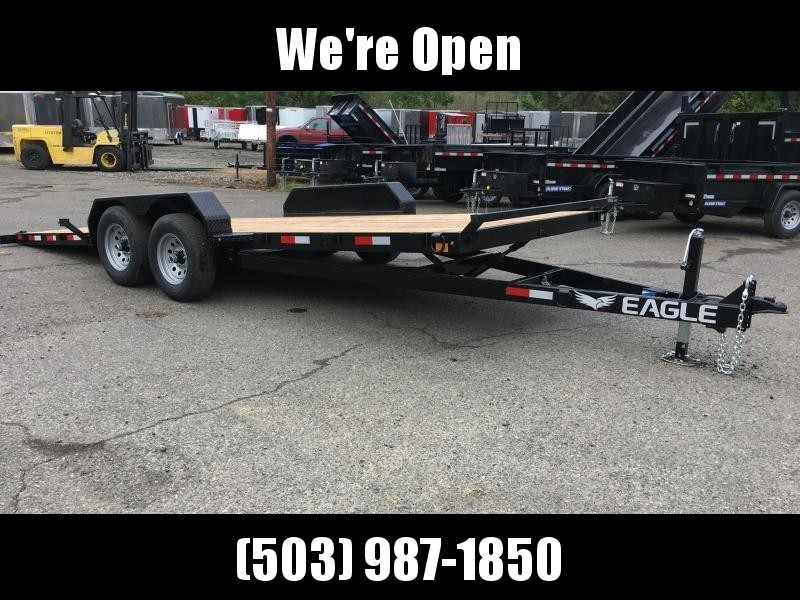 7x20 Car Hauler 10k TILT Open Utility Trailer