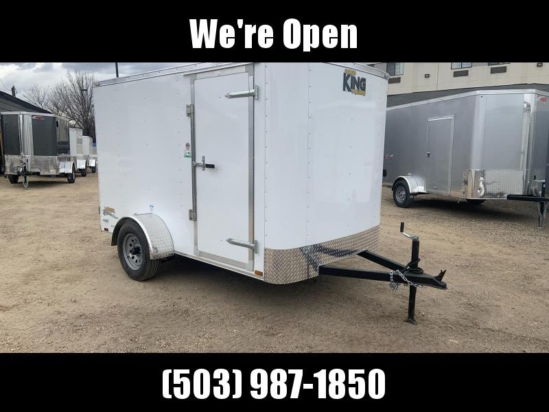 6x10 Enclosed Cargo Trailer **WE ARE STILL OPEN**