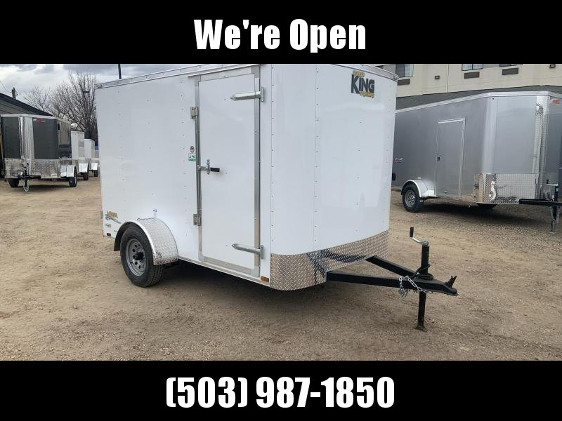6x10 Enclosed Cargo Trailer **WE ARE STILL OPEN**