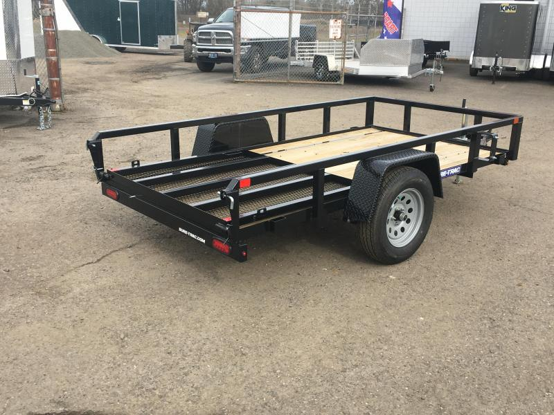 6x12 Utility Trailer Drop Down Gate 3K
