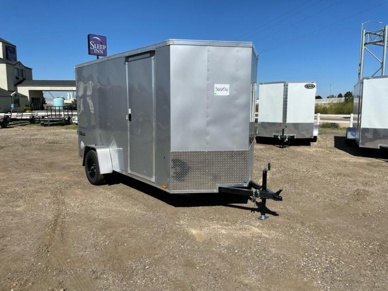 6x12 Enclosed Cargo Trailer with Ramp Rear Door