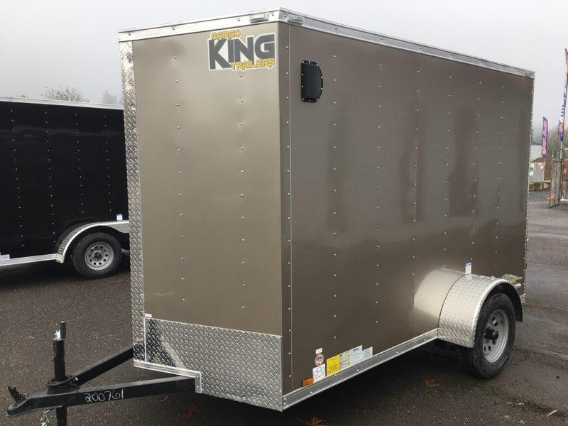 6x10 Enclosed Cargo Trailer **RV Side Door**