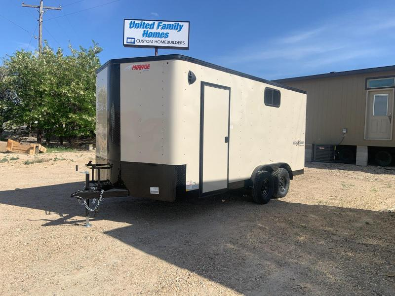 7.5x16 Tandem Axle Enclosed Cargo Trailer