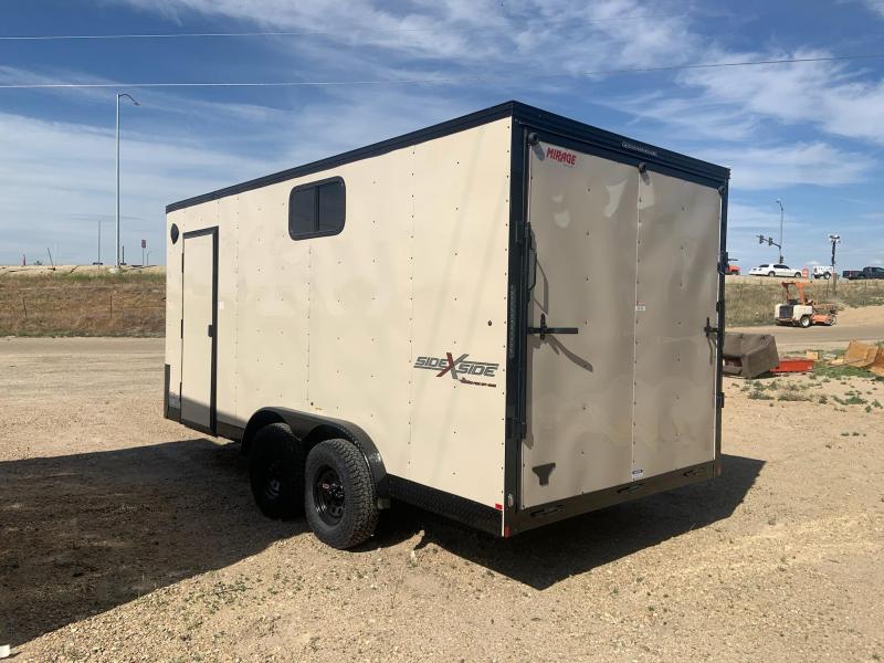 7.5x16 Tandem Axle Enclosed Cargo Trailer **PREORDER SALE**