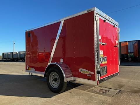 5 x 10 Enclosed Cargo Trailer